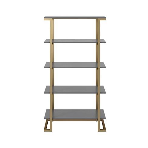 Camila 5 Shelf Bookcase - CosmoLiving by Cosmopolitan - image 1 of 4