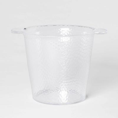 176oz Plastic Textured Ice Bucket - Threshold™