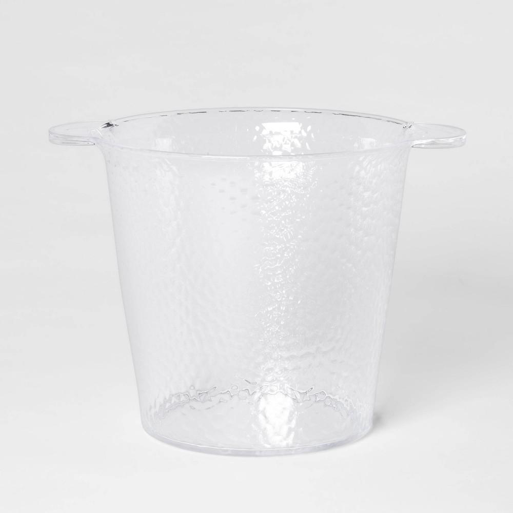Image of 176oz Plastic Textured Ice Bucket - Threshold