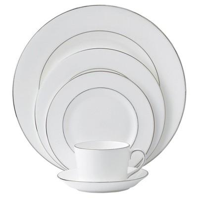 Royal Doulton Signature 5pc Dinnerware Set Platinum