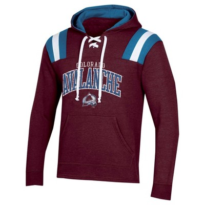 NHL Colorado Avalanche Men's Hat Trick Laced Hoodie