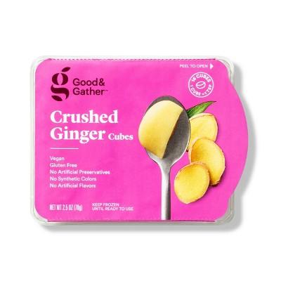 Frozen Crushed Ginger Cubes - 2.5oz - Good & Gather™