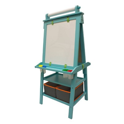 "Little Partners Deluxe Learn ""N Play Turquoise Art Center Easel"