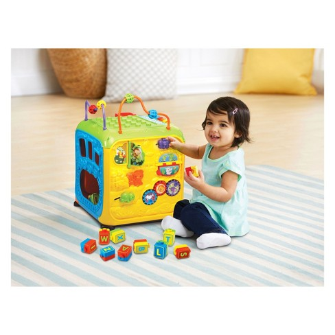 Vtech Ultimate Alphabet Activity Cube Target