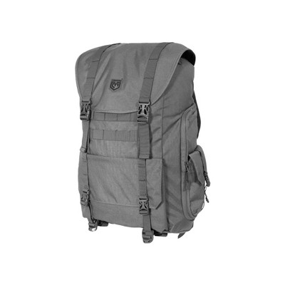 Cannae Pro Gear Sarcina Expedition Multi-Purpose Full Size Backpack, Dark Gray