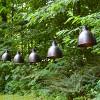 10 Lights Metal Electric Caf String Lights Bronze - image 2 of 4