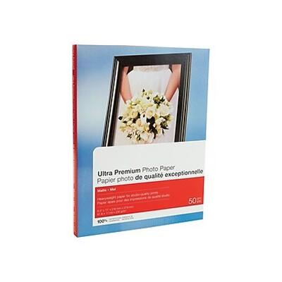 "MyOfficeInnovations Ultra Premium Matte Photo Paper 8.5"" x 11"" 50/Pack (19895-CC) 564121"