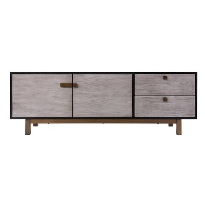 "Bucol Media Console for TVs upto 58"" Gray - Aiden Lane"