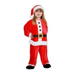 Toddler Plush Santa Jumpsuit Costume - Wondershop™