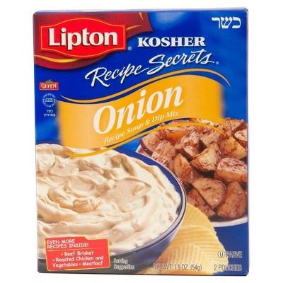 Lipton Kosher Recipe Secrets Onion Soup & Dip Mix - 1.9oz