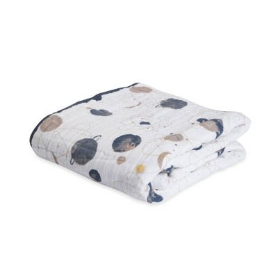 Little Unicorn 4-Layer Cotton Muslin Quilt - Planetary