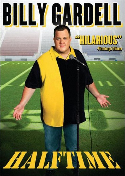 Billy gardell:Halftime (DVD) - image 1 of 1