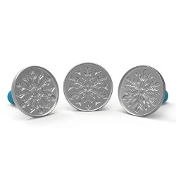 Disney Frozen 2- Falling Snowflake Cast Cookie Stamps