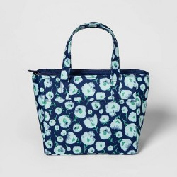 Floral Lunch Tote Blue - Room Essentials™