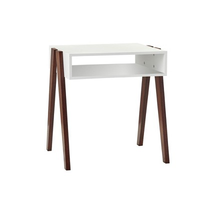 Laurel End Table - White - Adesso