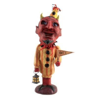 "Jorge De Rojas 11.5"" Devilish Dave October 31St  Horns Halloween  -  Decorative Figurines"