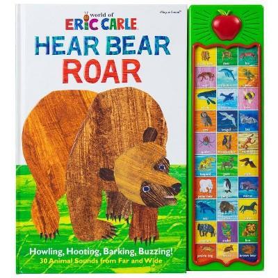 World of Eric Carle, Hear Bear Roar 30 Animal Sound Board Book