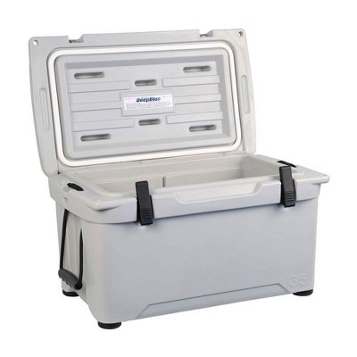 Engel Coolers 35 Quart 42 Can High Performance Roto Molded Ice Cooler, Gray