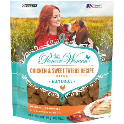 Purina Pioneer Woman Chicken and Sweet Taters Chewy Dog Treats - 16oz