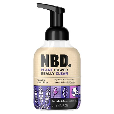 NBD Lavender & Rosewood Foaming Hand Soap - 10.5 fl oz