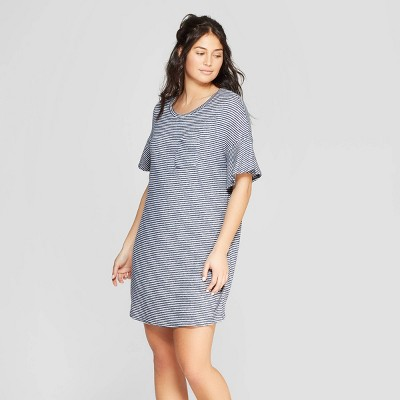 bc78cf3deab1 Women s Striped Perfectly Cozy Nightgown - Stars Above™ Navy