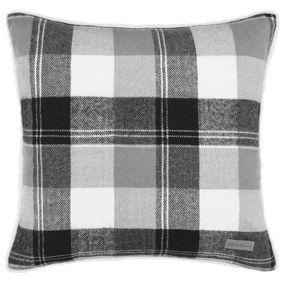 Gray Lodge Throw Pillow - Eddie Bauer