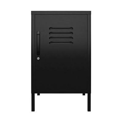 RealRooms Shadwick Metal Locker End Table