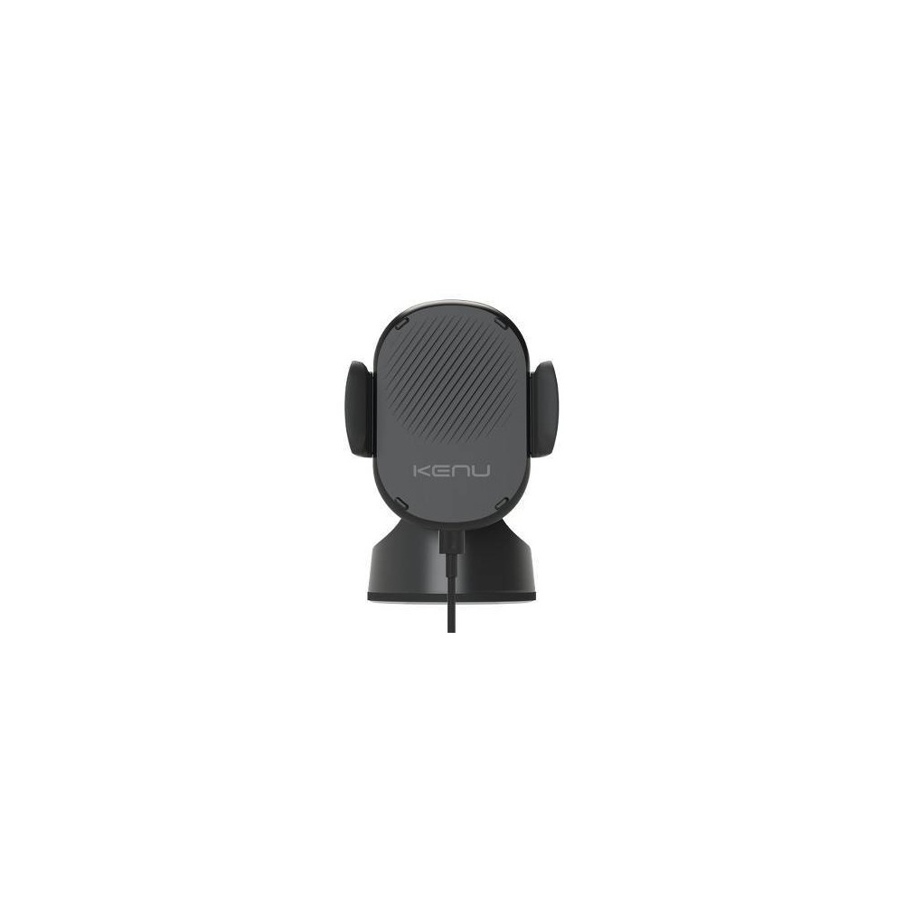 Kenu Airbase Qi Wireless Fast Charging Suction Mount - Black Engineered for convenience and safety. Made with durable components and designed with features to protect your phone. Qi certified and built with the latest wireless induction technology. Color: Black.