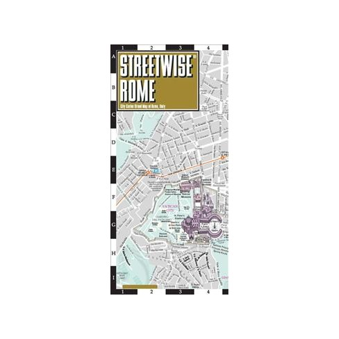 Streetwise Rome : City Center Street Map of Rome, Italy ...
