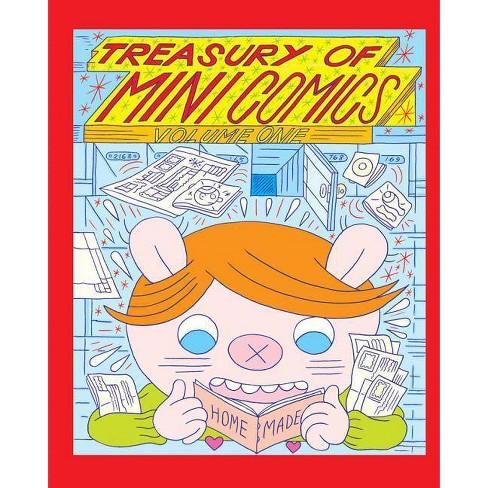 Treasury of Mini Comics Volume One - (Hardcover) - image 1 of 1