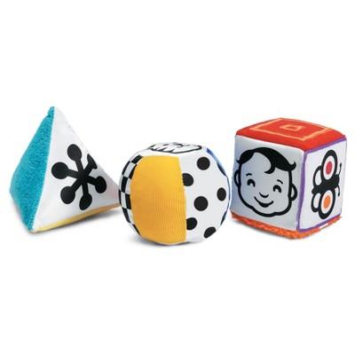 Manhattan Toy Wimmer-Ferguson Mind-Shapes Multi-Sensory Soft Activity Shape Set