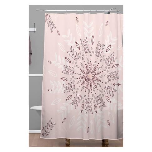 RosebudStudio Pretty Princess Shower Curtain Pink