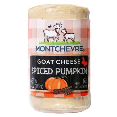 Montchevre Spiced Pumpkin Goat Cheese Log - 4oz