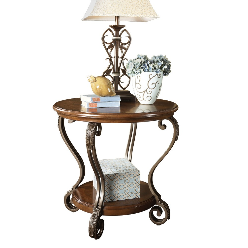 Nestor End Table - Medium Brown - Signature Design by Ashley