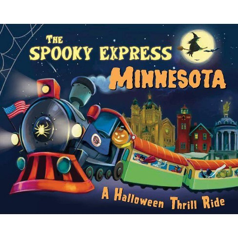 Spooky Express Minnesota -  by Eric James (Hardcover) - image 1 of 1
