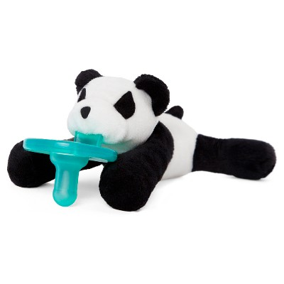 WubbaNub® Panda Pacifier - White/Black