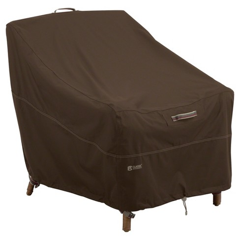 Madrona Lounge Chair Cover - Dark Cocoa - Classic Accessories - image 1 of 9