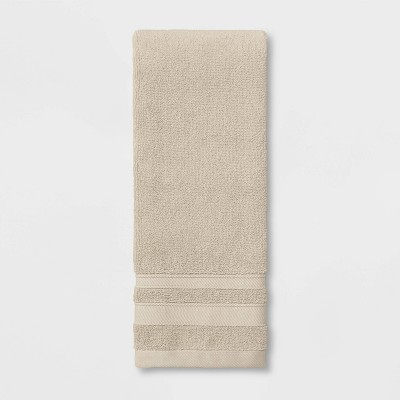 Performance Hand Towel Bare Canvas Tan - Threshold™