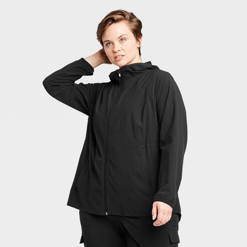 Women's Plus Size Anorak Jacket - All in Motion™ - image 1 of 4
