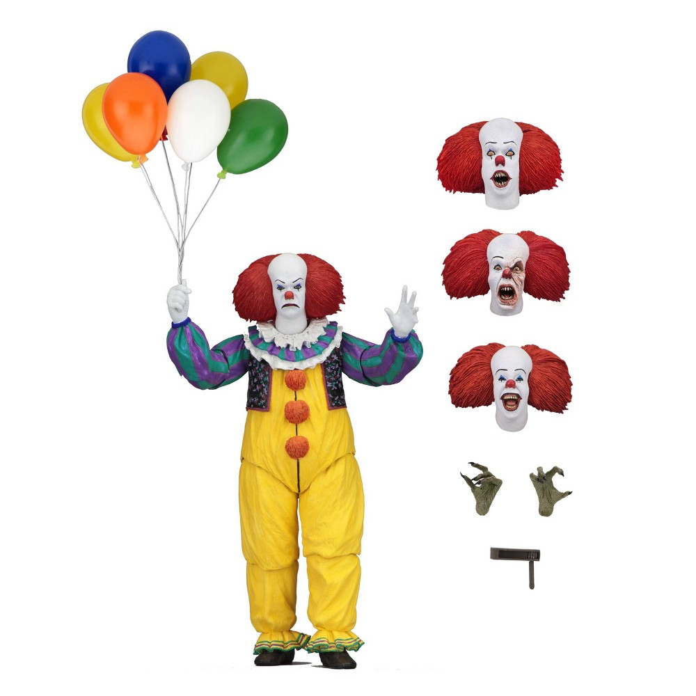 """Image of """"It The Movie Ultimate Pennywise 7"""""""" Action Figure & Accessories"""""""