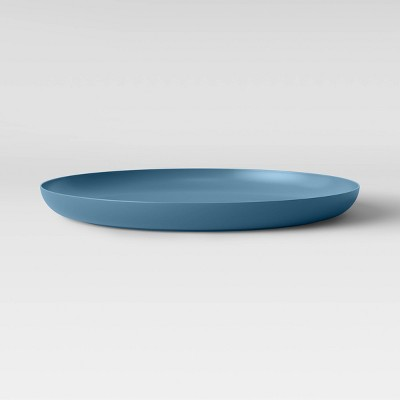 "10.5"" Plastic Round Dinner Plate Teal - Made By Design™"