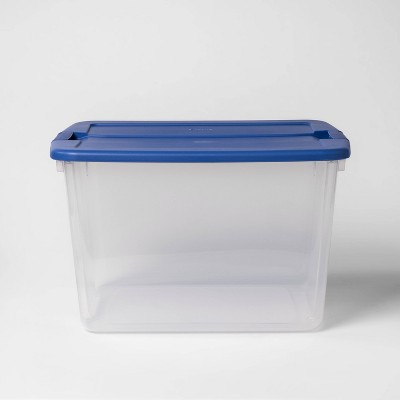 Utility Storage Tote Blue - Room Essentials™