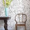 NuWallpaper Imprint Peel and Stick Wallpaper Black - image 2 of 4