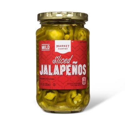 Sliced Jalapenos 12oz - Market Pantry™