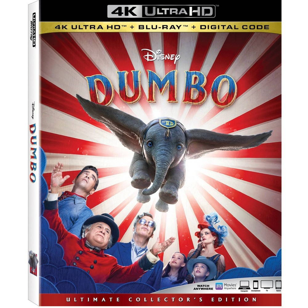 Dumbo Live Action (4K/UHD) was $29.99 now $20.0 (33.0% off)