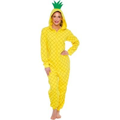 Funziez! Pineapple Slim Fit Adult Novelty Union Suit
