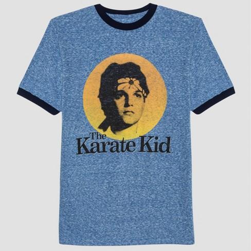 Men's Stranger Things Karate Kid Short Sleeve Graphic T-Shirt Navy - image 1 of 2