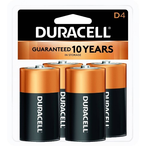 Duracell Copper Top D Alkaline Batteries - 4ct - image 1 of 2