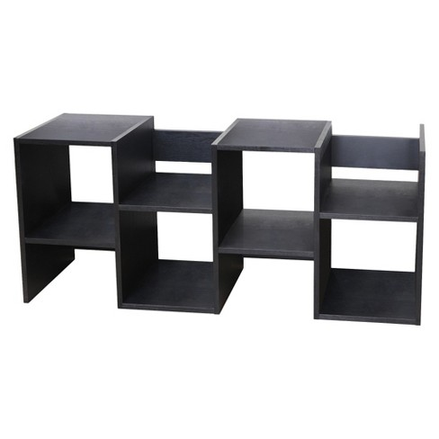 "Enitia 23.86"" Block Display Stand Black - HOMES: Inside + Out - image 1 of 4"