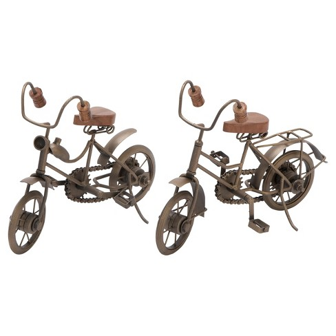 "Vintage Reflections Iron Off-Road Model Bicycles (11"") 2ct - Olivia & May - image 1 of 4"